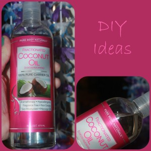 Fractionated coconut oil DIY ideas