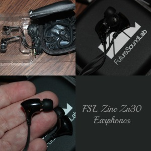 FSL Zinc Zn30 Earphones