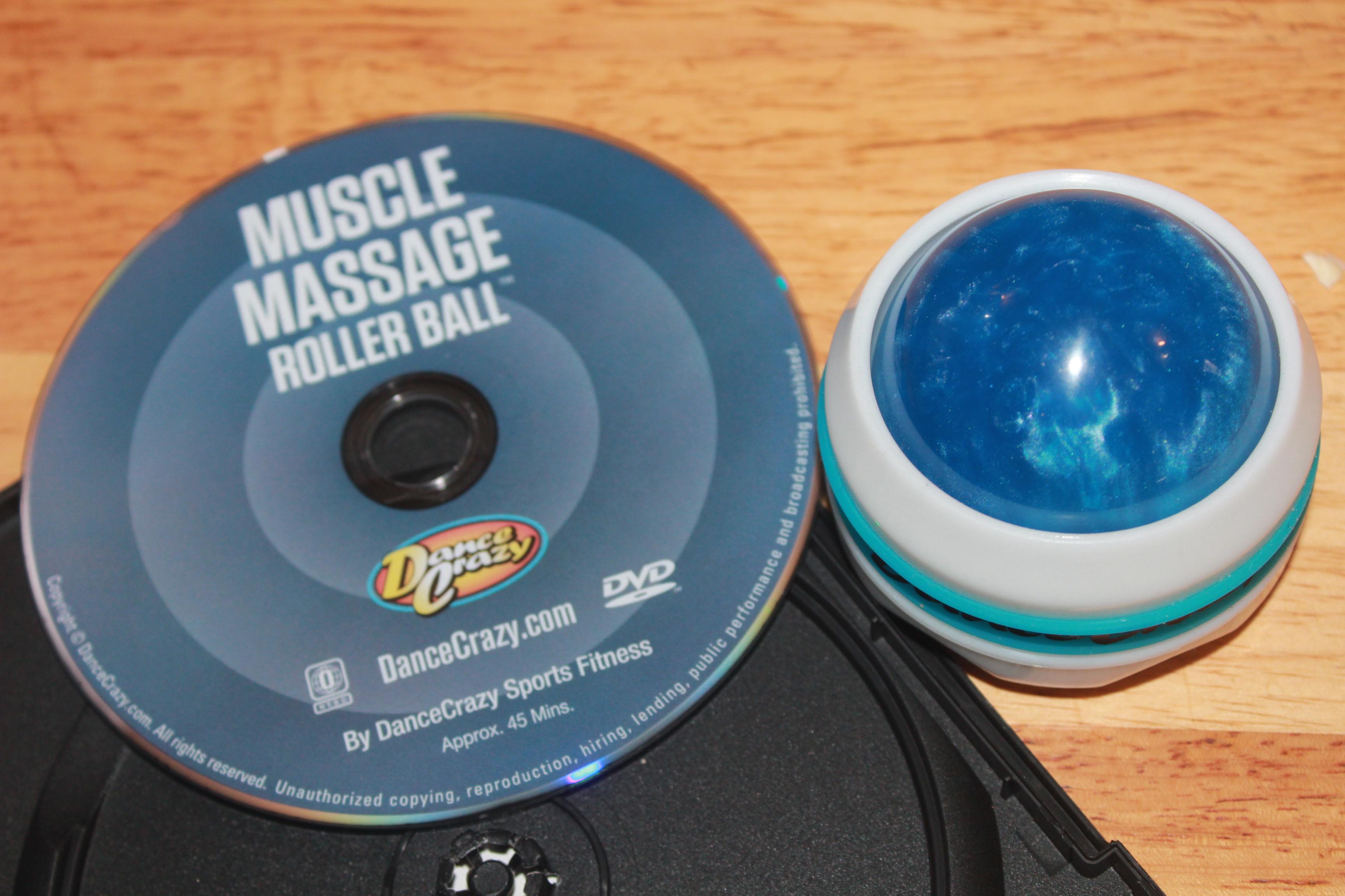 review dancecrazy massager roller ball dvd nfr6k reviews. Black Bedroom Furniture Sets. Home Design Ideas